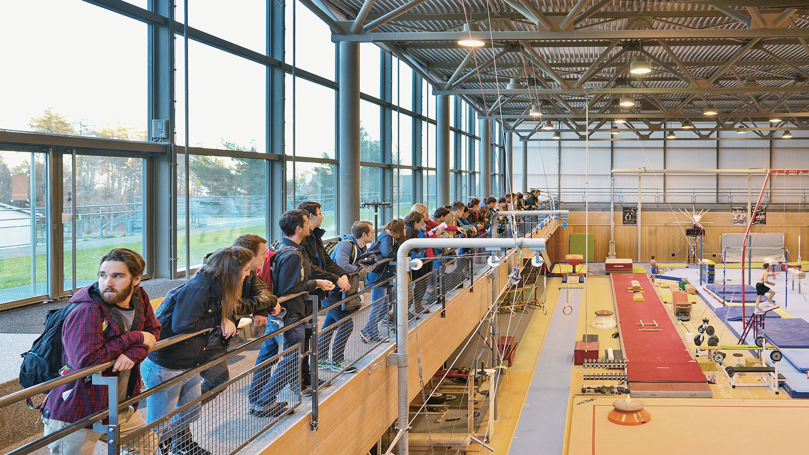Studierende des Sport Management in Magglingen